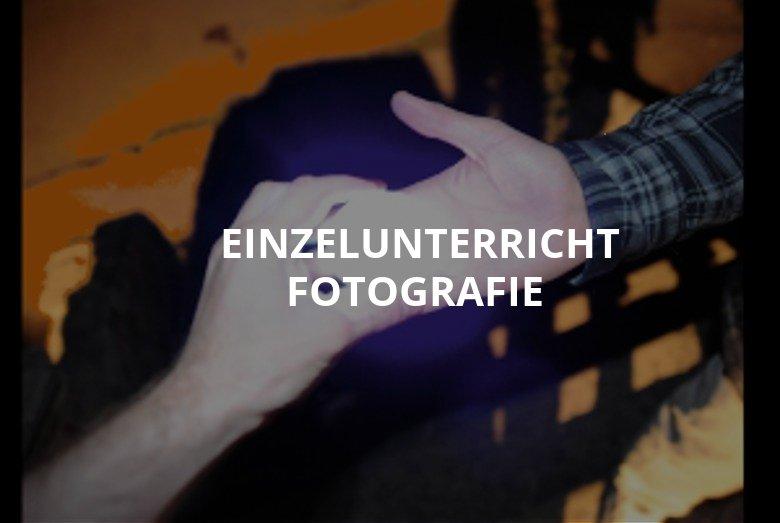 Einzelunterricht Fotografie