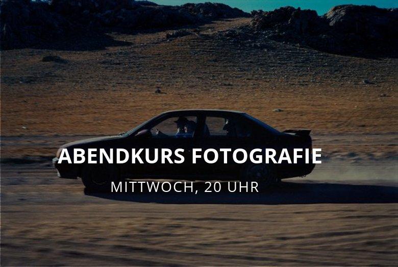 Abendkurs Internationales Fotografiewissen / Mittwoch 20 Uhr