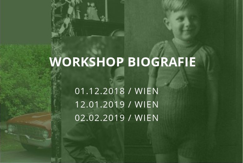 Workshop Biografie